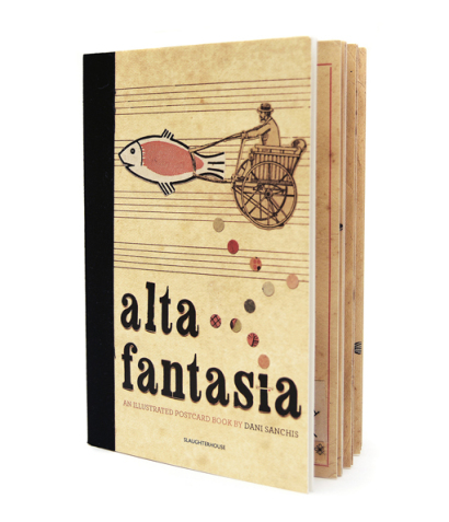 alta_fantasia_postcard-book_slaughterbooks_dani_sanchis_n